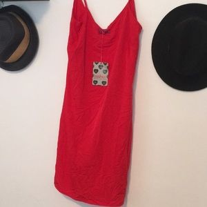 🍁 Boohoo Red dress